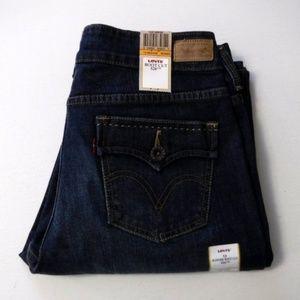 Levis 526 Slender Boot Cut Jeans 12 Medium Stretch